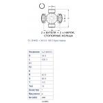 KryžmėGKN U694 (34.9x106.3)
