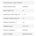 "Slėgio vožtuvas (reduktorius) PN16 1.0 - 5.5bar. 1/2"" Fx 1/2"" F"