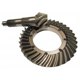 Bevel Gear Set Z-8/35, F1546-0171/16 ir F1545-0171/16 Uniloader 300 DYA