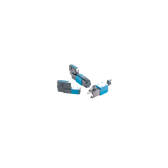 Proporcinis hidraulinis vožtuvas, skirstytuvas KFDG4V5-33C30N-Z-M-U1-H7-20, 02-332678, Vickers