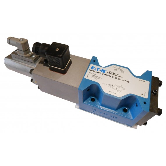 Proporcinis hidraulinis vožtuvas, skirstytuvas KFTG4V-5-2B-70N-Z-M-U1-H7-20, 565462, Vickers